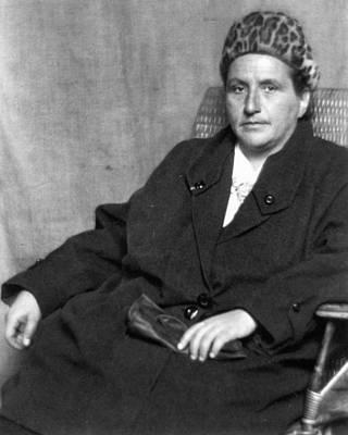Gertrude Stein (1874-1946) Poster