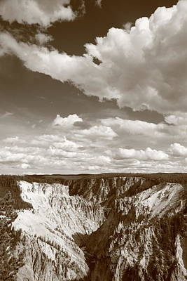 Grand Canyon Of Yellowstone Poster by Frank Romeo