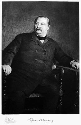 Grover Cleveland (1837-1908) Poster by Granger