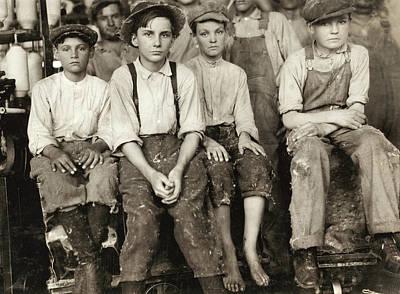 Hine Child Labor, 1913 Poster by Granger