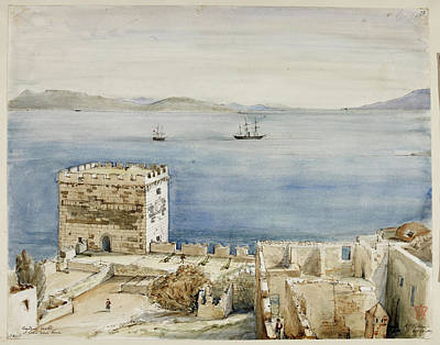 Historic Buildings In Greece Poster by British Library