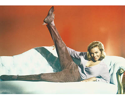 Honor Blackman Poster by Silver Screen