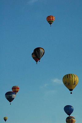 Hot Air Balloons Poster