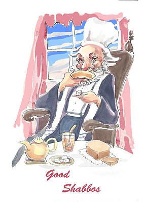 Tea And Sabbath Poster by Shirl Solomon