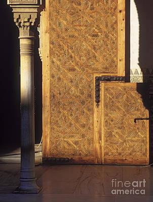 La Alhambra Poster by Guido Montanes Castillo