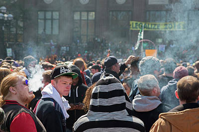 Legalisation Of Marijuana Rally Poster
