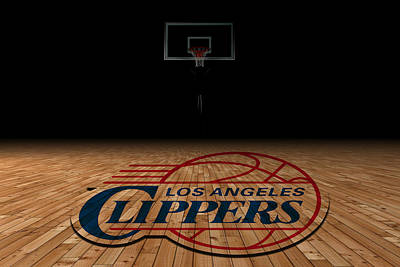Los Angeles Clippers Poster by Joe Hamilton