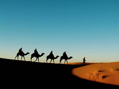 Merzouga, In The Deep South Of Morocco Poster by Dani Salv�