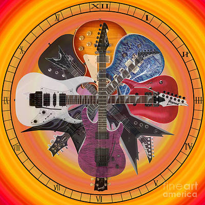 7 O'clock Rock Poster by Casey Tovey