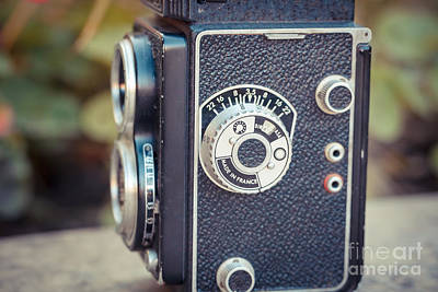 Old Vintage Camera Poster by Sabino Parente