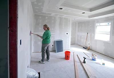 Re-building After Hurricane Katrina Poster