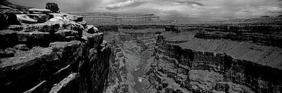 River Passing Through A Canyon Poster by Panoramic Images