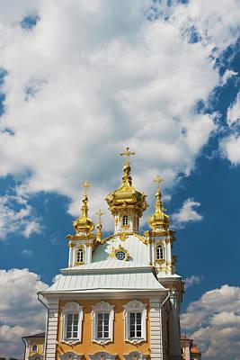Russia, Saint Petersburg, Peterhof Poster by Walter Bibikow