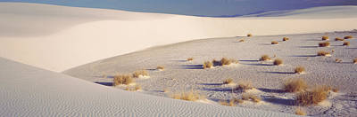 Sand Dunes In A Desert, White Sands Poster by Panoramic Images