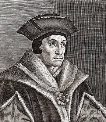 Sir Thomas More, English Statesman Poster