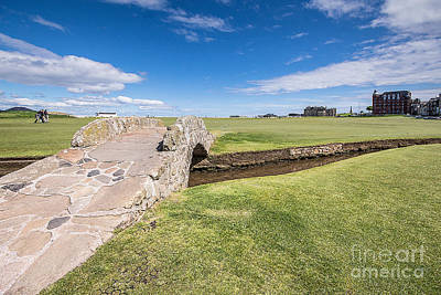 St Andrews 18 Hole Poster by Keith Thorburn LRPS