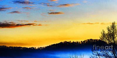 Sunrise Drama Poster by Thomas R Fletcher