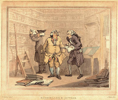 Thomas Rowlandson British, 1756 - 1827 Poster by Litz Collection