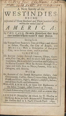 Title Page Poster by British Library
