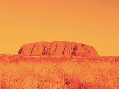Uluru Poster by Girish J