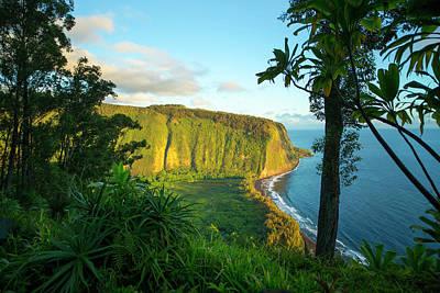 Waipio Valley, Hamakua Coast, Big Poster