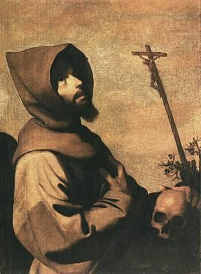 Zurbaran, Francisco De 1598-1664. Saint Poster by Everett