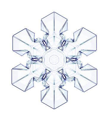 Snowflake Poster