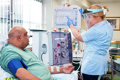 Shared Care Dialysis Unit Poster by Life In View