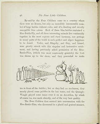 A Book Of Nonsense By Lear Poster