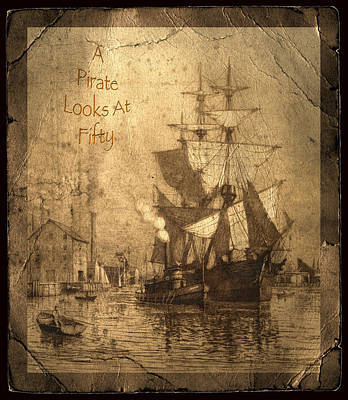 A Pirate Looks At Fifty Poster