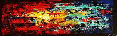 Abstract Painting  Poster by Jolina Anthony