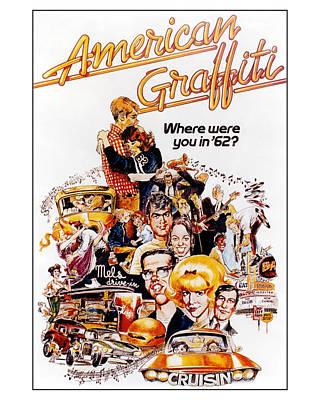 American Graffiti  Poster by Silver Screen