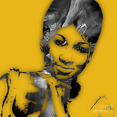 Aretha Franklin Collection Poster