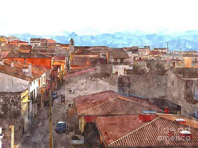 Arzachena Paesaggio Poster