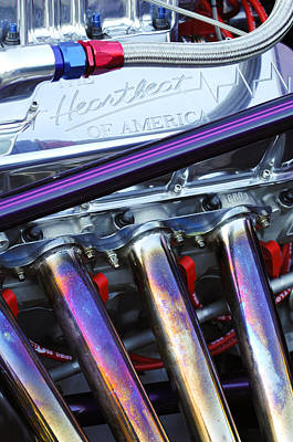 Chevrolet Engine Poster by Jill Reger