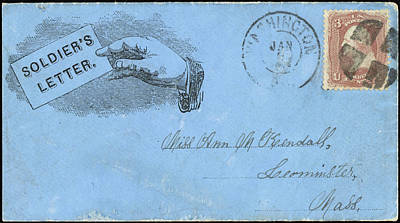 Civil War Letter, C1863 Poster