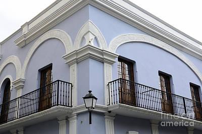 Colorful Old San Juan Poster