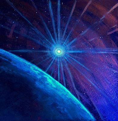Cosmic Light Series Poster