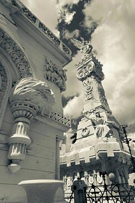 Cuba, Havana, Vedado, Necropolis Poster by Walter Bibikow
