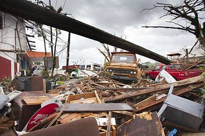 Destruction After Super Typhoon Haiyan Poster by Jim Edds