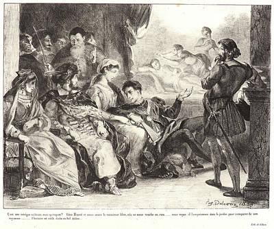 Eugène Delacroix French Poster