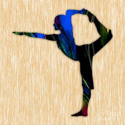 Fitness Yoga Poster