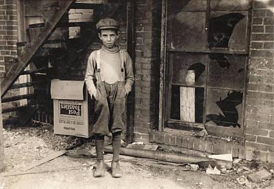 Hine Child Labor, 1917 Poster