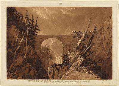 Joseph Mallord William Turner And Charles Turner British Poster by Quint Lox