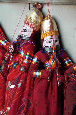 Kathputli, Traditional Rajasthani Poster by Inger Hogstrom