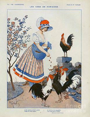 La Vie Parisienne  1916 1910s France Cc Poster