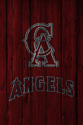 Los Angeles Angels Poster by Joe Hamilton
