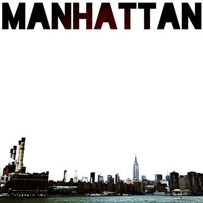 Manhattan Poster by Natasha Marco