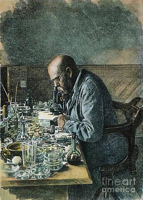 Robert Koch (1843-1910) Poster by Granger