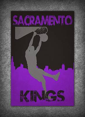 Sacramento Kings Poster by Joe Hamilton